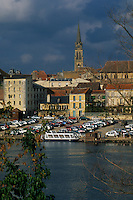 Europe/France/Aquitaine/24/Dordogne/Bergerac: Quais et rives de la Dordogne