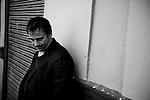 Spanish actor Eduard Fernandez poses for a portrait session.