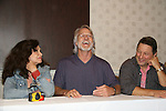 Deborah Van Valkenburgh, Michael Beck, Terry Michos - The Warriors - 30 years reunion during Q & A at the Super Megashow & Comic Fest on August 30, 2009 in Secaucus, New Jersey (Photo by Sue Coflin/Max Photos)
