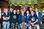 Chelesa supporters gathered at The Castle Bar,Rock Street,Tralee on Saturday to watch Chelesa play their first game in the Premier against Swansea which the game ended 2-2. L-r: Peter Comerford, Gerard O'Sullivan,Rory Fury,Dave Barry,Henry Moulneaux,Jeremiah Naughton,Petrina Comerford,Mike Houlihan,Bertie Flynn and Seamus Cronin.