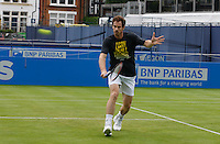 Andy Murray practicing at Aegon Queens Tennis Championship June 17, 2016 in London England.<br /> CAP/GOL<br /> &copy;GOL/Capital Pictures /MediaPunch ****NORTH AND SOUTH AMERICAS ONLY***