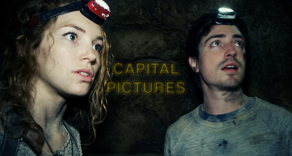 Perdita Weeks, Ben Feldman<br /> in As Above, So Below (2014)  <br /> *Filmstill - Editorial Use Only*<br /> CAP/FB<br /> Image supplied by Capital Pictures