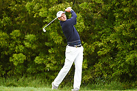 Martin Kaymer (GER) watches his tee shot on 12 during round 3 of the 2019 US Open, Pebble Beach Golf Links, Monterrey, California, USA. 6/15/2019.<br /> Picture: Golffile | Ken Murray<br /> <br /> All photo usage must carry mandatory copyright credit (© Golffile | Ken Murray)