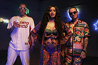 MIAMI, FLORIDA - MAY 29, 2018 Bad Bunny, Cardi B &amp; J Balvin on the set of the I Like It video shoot March 28, 2018 in Miami, Florida. <br /> CAP/MPI/WG<br /> &copy;WG/MPI/Capital Pictures