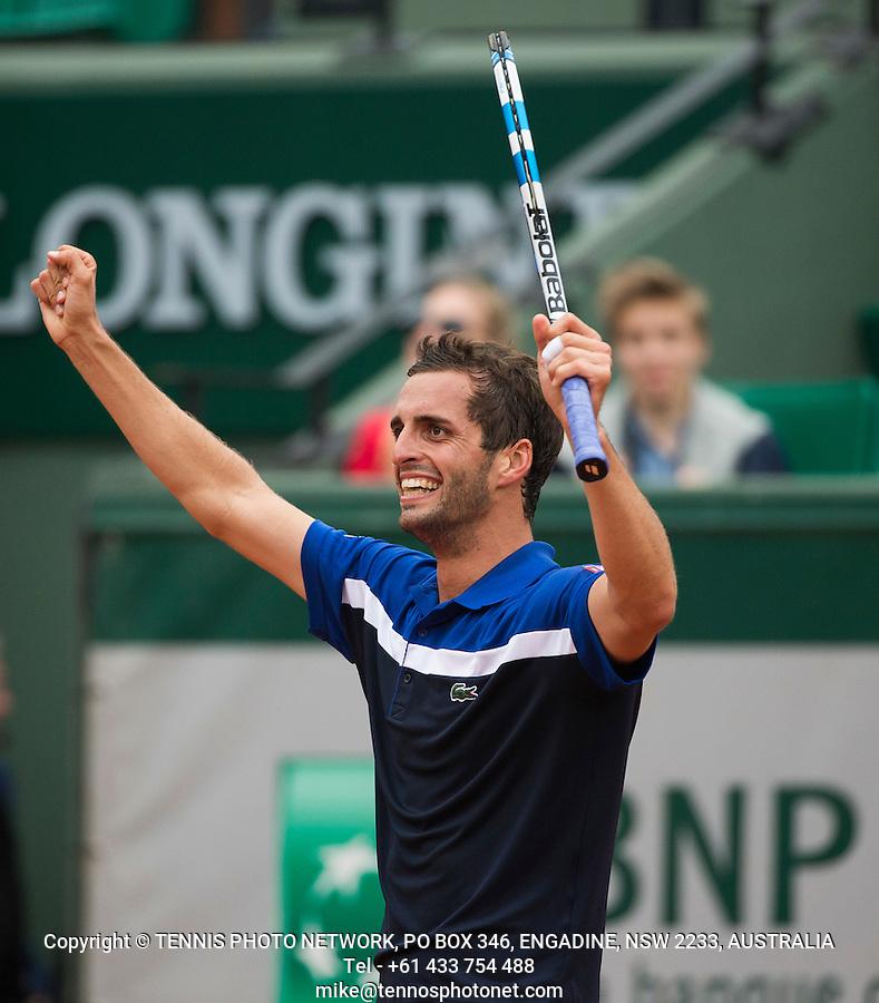 ALBERT RAMOS-VINOLAS (ESP)<br /> <br /> TENNIS - FRENCH OPEN - ROLAND GARROS - ATP - WTA - ITF - GRAND SLAM - CHAMPIONSHIPS - PARIS - FRANCE - 2016  <br /> <br /> <br /> <br /> &copy; TENNIS PHOTO NETWORK