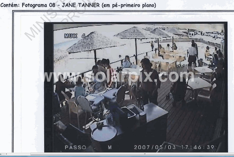 **ALL ROUND PICTURES FROM SOLARPIX.COM**.**WORLDWIDE SYNDICATION RIGHTS**.Photos from Portuguese Police report on the abduction of Madeleine McCann in Praia da Luz in the Algarve on 3rd May 2007 ..This pic: CCTV of the Tapas 7 on the night of the disappearance..These pictures have been copied from the disk issued by the Portuguese police and Solarpix will not be held responsible for any copyright infringement..JOB REF:  6982     PPL        DATE: 08.08.08.**MUST CREDIT SOLARPIX.COM OR DOUBLE FEE WILL BE CHARGED* *UNDER NO CIRCUMSTANCES IS THIS IMAGE TO BE REPRODUCED FOR ANY ONLINE EDITION WITHOUT PRIOR PERMISSION*