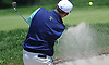Craig Thomas hits out of a bunker on the 4th Hole of Garden City Country Club during the Polo / Ralph Lauren Metropolitan PGA Head Professional Championship on Wednesday, May 30, 2018.