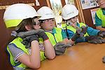 Vattenfall-School visit to Pen y Cymoedd.<br /> 23.04.15<br /> &copy;Steve Pope - FOTOWALES
