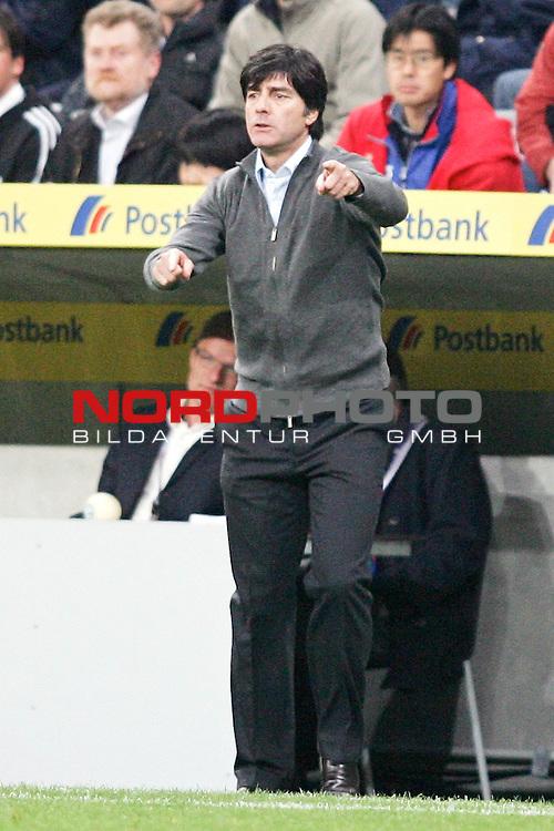 Qualifikation EM 2007 Gruppe: D - Deutschland (GER) vs. Tschechien (CZ). <br /> <br /> Trainer Joachim L&ouml;w (Deutschland).<br /> <br /> <br /> Foto &copy; nph (  nordphoto  )<br /> <br /> <br /> <br />  *** Local Caption ***