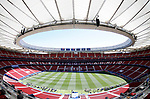 General view of Wanda Metropolitano before the  UEFA Champions League match, Final Roundl between Tottenham Hotspur FC and Liverpool FC at Wanda Metropolitano Stadium in Madrid, Spain. June 01, 2019.(Foto: nordphoto / Alterphoto /Manu R.B.)