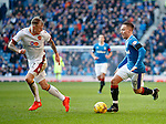 Barrie McKay takes on Richard Tait
