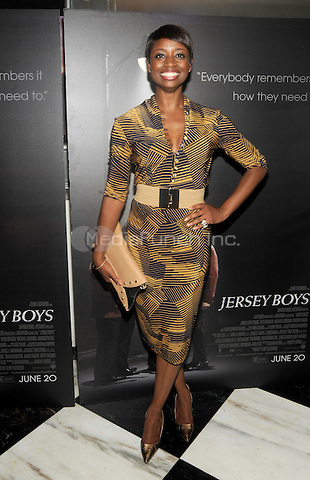 New York, NY- June 9:  Montego Glover attends the 'Jersey Boys' Special Screening at the Paris Theater on June 9, 2014 in New York City. Credit: John Palmer/MediaPunch