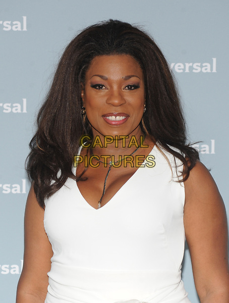 NEW YORK, NY - MAY 14: Lorraine Toussaint at the 2018 NBCUniversal Upfront at Rockefeller Center in New York City on May 14, 2018. <br /> CAP/MPI/PAL<br /> &copy;PAL/MPI/Capital Pictures