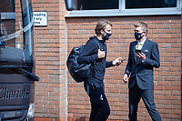 27th June 2020; Carrow Road, Norwich, England; FA Cup 6th round tie, Norwich City versus Manchester united; Teams arriving at the stadium pre-match;  Tom Trybull arriving at Carrow Road