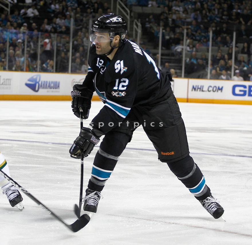 PATRICK MARLEAU, of the San Jose Sharks.