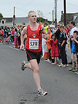 Gerard Fay of Drogheda and District  AC running in the Clogherhead 10k. Photo: Colin Bell/pressphotos.ie