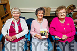 Attending the Castleisland Wisdom and Togetherness Book launch in Castleisland on Friday.<br /> L to r: Pauline Cronin (College Road), Helen Pembroke and Peggy McCarthy.