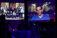 Danell Leyva slideshow presentation at The Boys and Girls Club of Miami Wild About Kids 2012 Gala at The Four Seasons, Miami, FL on October 20, 2012
