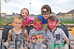 Candy Fitzgerald, isabelle Locke, Tommy Sean Burn, Leon O'Connor and Jay O'Connor enjoying the Crollar Na Mistealach Family fun day on Saturday