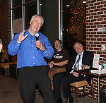 Dale Hollenbaugh sings for Guiding Light's Robert Newman - Karaoke for Autism - 13th Annual Daytime Stars and Strikes for Autism on April 22, 2016 at The Residence Inn Secaucus Meadowland, Secaucus, NJ. April is Autism Awareness Month - Make a Difference This Spring. (Photo by Sue Coflin/Max Photos)