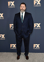 PASADENA, CA - JANUARY 9:  Nick Offerman at the 2020 FX Networks TCA Winter Press Tour Star-Walk at the Langham Huntington on January 9, 2020 in Pasadena, California. (Photo by Scott Kirkland/FX Networks/PictureGroup)