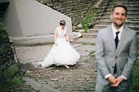 Sarah and Derek's Wedding at Golden Gardens Park Bathhouse in Seattle, Washington on Sunday, Oct. 6, 2013.