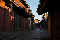 Old City, Lijiang, Yunnan, China. 11 November 2012.