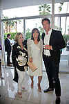 PALM SPRINGS - APR 27: Helene Galen, Linda Gray, Grafton Doyle at a cultivation event for The Actors Fund at a private residence on April 27, 2016 in Palm Springs, California