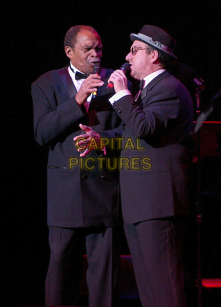 November 5, 2005; Cleveland, OH, USA; Music superstars ELVIS COSTELLO and OTIS CLAY performs at the 10th Annual American Music Masters paying tribute to the late Sam Cooke presented by the Rock and Roll Hall of Fame and Case Western Reserve University held at the State Theatre, Playhouse Square. Mandatory Credit: Photo by Jason Nelson/AdMedia....