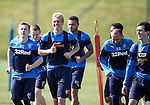 Tom Lang happy to be at Rangers