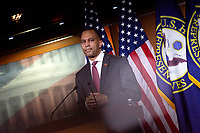 United States Representative Hakeem Jeffries (Democrat of New York) speaks during a news conference at the United States Capitol in Washington D.C., U.S., on Monday, June 29, 2020.  Credit: Stefani Reynolds / CNP /MediaPunch