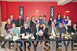 Christening: Baby Jack with his parents Tony &  Kathhleen Fennell, Dooncaha, Tarbert and family at Fitzgerald's Restayrant, Listowel on Sunday.