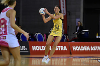 Pulse's Ameliaranne Wells in action during the ANZ Championship - Central Pulse v Adelaide Thunderbirds at Te Rauparaha Arena, Porirua, New Zealand on Sunday 12 June 2016. <br /> Photo by Masanori Udagawa. <br /> www.photowellington.photoshelter.com.