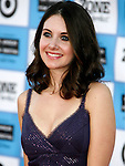 "Westwood, CA - June 23: Alison Brie arrives at the 2009 Los Angeles Film Festival's premiere of ""Public Enemies"" at the Mann Village Theatre on June 23, 2009 in Westwood, Los Angeles, California."