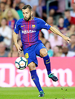 FC Barcelona's Jordi Alba during Joan Gamper Trophy. August 7,2017. (ALTERPHOTOS/Acero) /NortePhoto.com