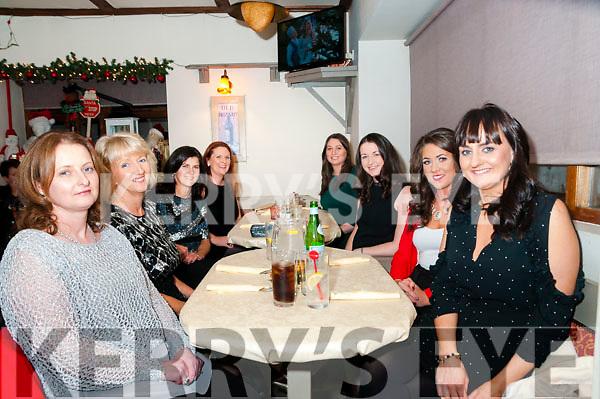 Tarbert NS Xmas Party: The  staff of Tarber NS enjoying their Xmas party at Casa Mia's restaurant, Listowl on Saturday night last.