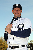 Feb 21, 2009; Lakeland, FL, USA; The Detroit Tigers catcher Max St. Pierre (63) during photoday at Tigertown. Mandatory Credit: Tomasso De Rosa/ Four Seam Images