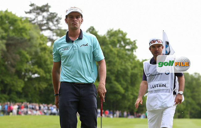 Joost Luiten (NED) lost ground on the leaders during Round Three of the 2015 BMW PGA Championship over the West Course at Wentworth, Virginia Water, London. 23/05/2015. Picture David Lloyd | www.golffile.ie.