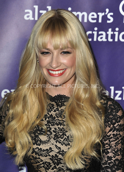 WWW.ACEPIXS.COM....March 20 2013, LA......Beth Behrs arriving at the 21st Annual 'A Night At Sardi's' to benefit the Alzheimer's Association at The Beverly Hilton Hotel on March 20, 2013 in Beverly Hills, California.....By Line: Peter West/ACE Pictures......ACE Pictures, Inc...tel: 646 769 0430..Email: info@acepixs.com..www.acepixs.com