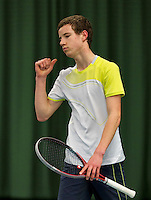 March 15, 2015, Netherlands, Rotterdam, TC Victoria, NOJK, Maikel Borg (NED)<br /> Photo: Tennisimages/Henk Koster