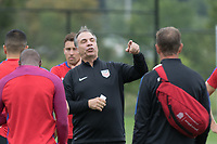 Whippany, NJ - Tuesday August  29, 2017: The USMNT train in preparation for their world cup qualifying match versus Costa Rica at Red Bulls training facility.