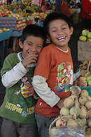 Children in Banos, Ecuador