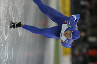 SPEEDSKATING: HAMAR: 2006, Vikingskipet, European Speed Skating Championships, winner Enrico Fabris (ITA), ©photo Martin de Jong