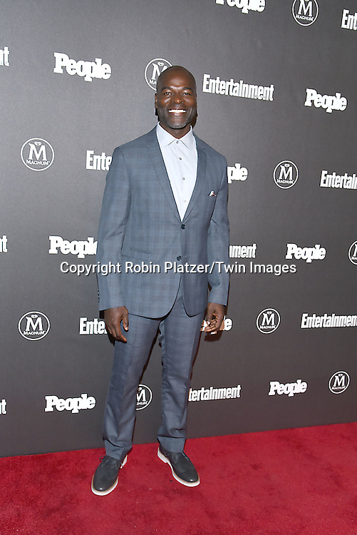 Hisham Tawfiq attends the Entertainment Weekly &amp; PEOPLE Magazine New York Upfronts Celebration on May 16, 2016 at Cedar Lake in New York, New York, USA.<br /> <br /> photo by Robin Platzer/Twin Images<br />  <br /> phone number 212-935-0770