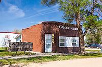 Historic bank building in Lamar, NE