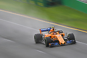 24th March 2018, Melbourne Grand Prix Circuit, Melbourne, Australia; Melbourne Formula One Grand Prix, qualifying; Stoffel Vandoorne of Belgium driving the (2) McLaren F1 Team MCL33 Renault