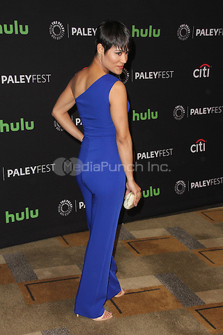 HOLLYWOOD, CA - MARCH 11: Grace Gealey at The Paley Center For Media's 33rd Annual PALEYFEST Los Angeles 'Empire' at Dolby Theatre on March 11, 2016 in Hollywood, California. Credit: David Edwards/MediaPunch