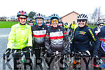 Catriona Keane, Leonie Smith, Fiona Cooke and Ann Sheehan at the Jimmy Duffy Memorial cycle in Blennerville on Saturday.