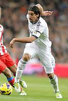 Real Madrid's Sami Khedira during La Liga Match. December 01, 2012. (ALTERPHOTOS/Alvaro Hernandez)