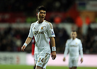 Sunday, 28 November 2012<br /> Pictured: Ki Sung Yueng of Swansea<br /> Re: Barclays Premier League, Swansea City FC v West Bromwich Albion at the Liberty Stadium, south Wales.